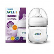 Cumisüveg, 125 ml, NATURAL, Philips Avent