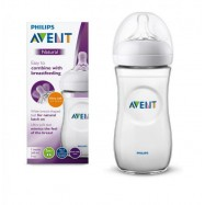 Cumisüveg, 260 ml, NATURAL, Philips Avent